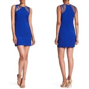 Dress the Population Cora Strappy Shoulder Dress